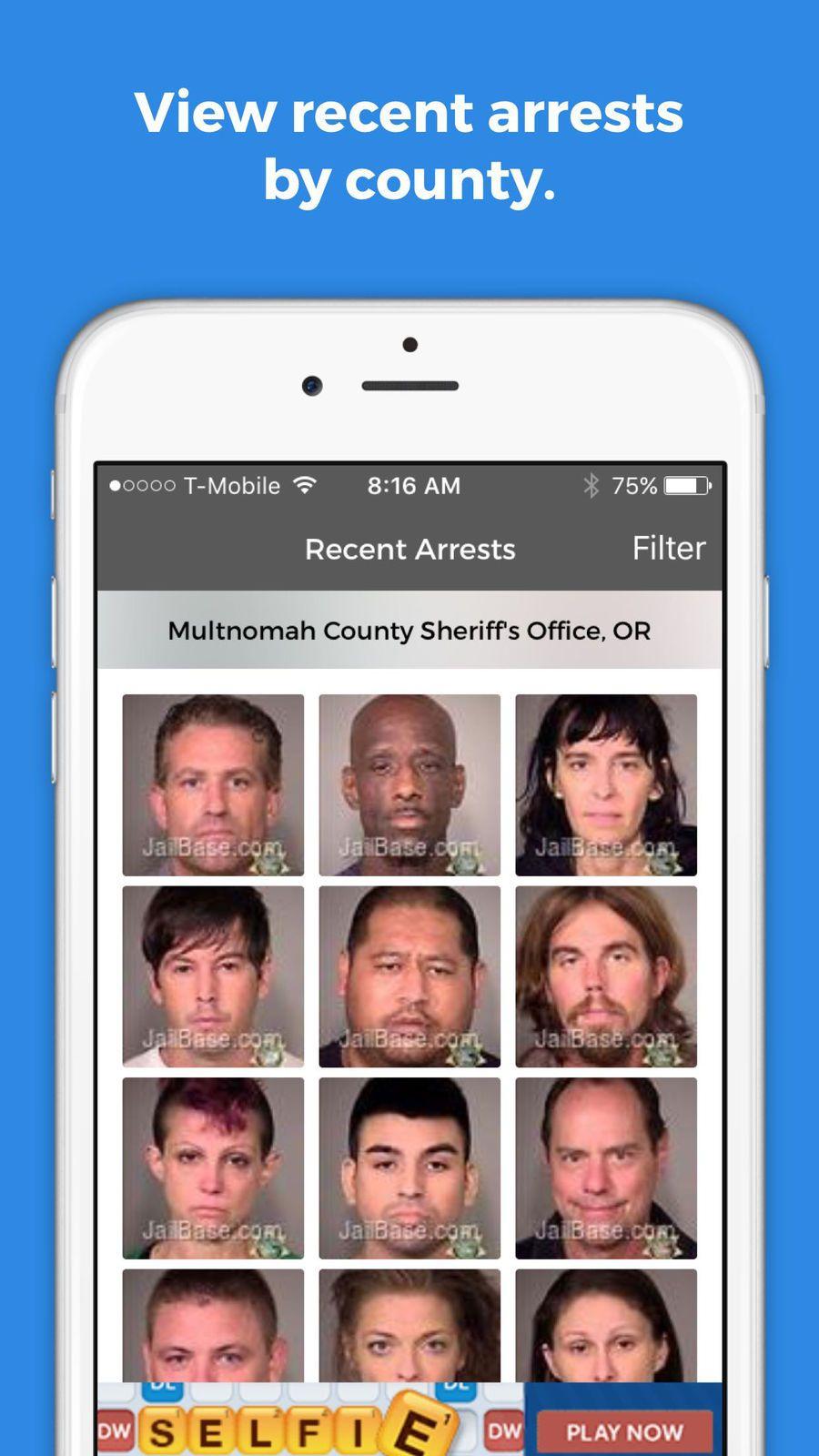 JailBase Arrests and Mugshots #ios#apps#app#News | Apple Game Free