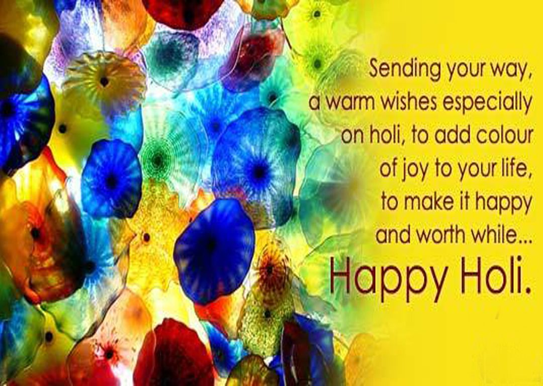 Happy holi sms hd wallpaper for fb and whatsapp walls rocking happy holi wishes cards images for girlfriend holi sms messages kristyandbryce Images