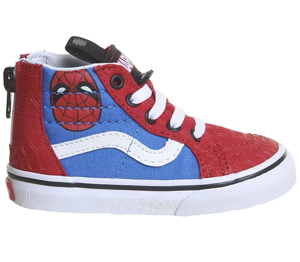 Vans Kids X Marvel Spider Man Shoes