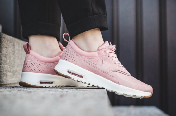 6cbe52fc081f Pink Glaze Drapes The Nike Air Max Thea Premium