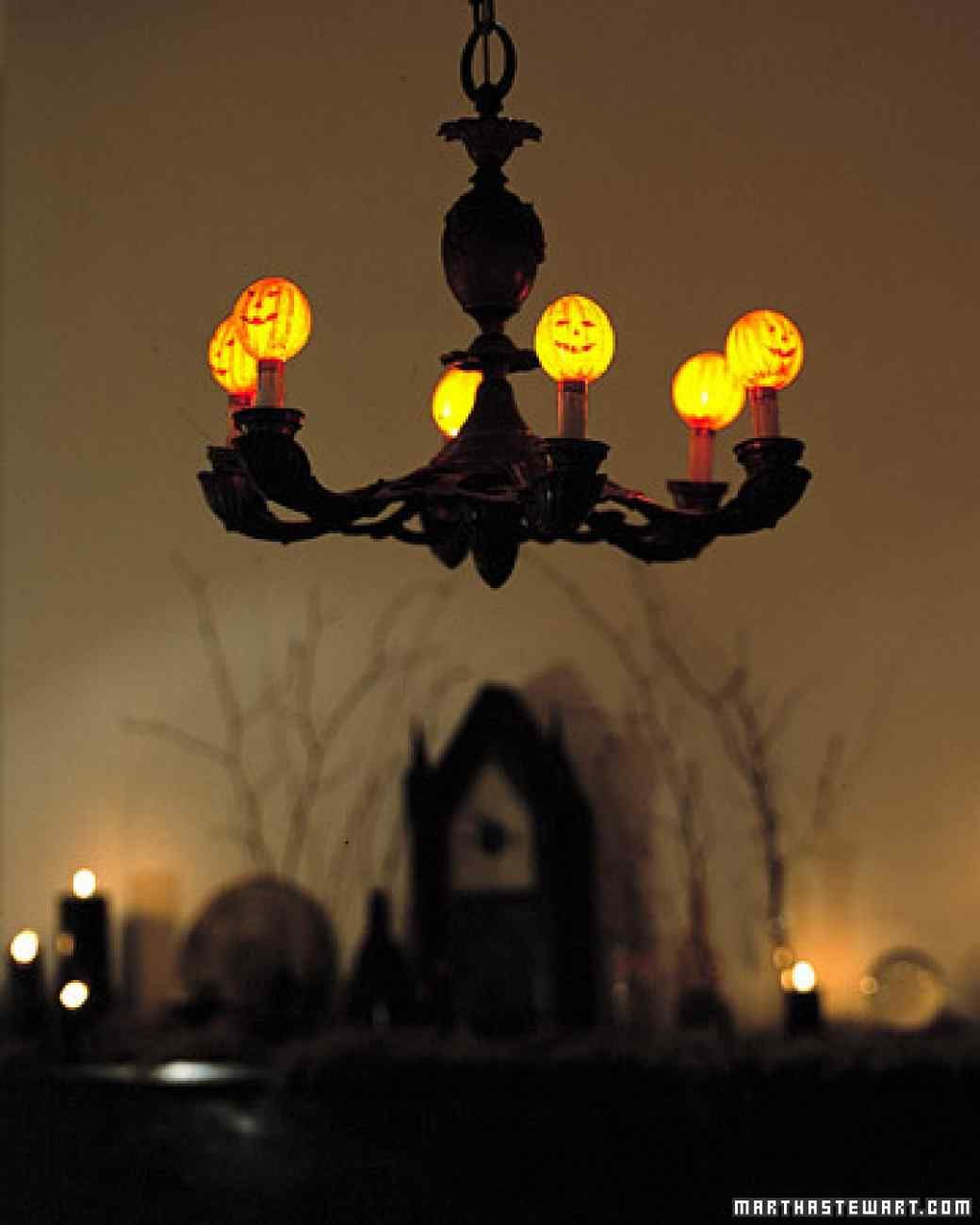 Halloween Projects  Crafts Pinterest Chandelier shades, DIY - Diy Indoor Halloween Decorations
