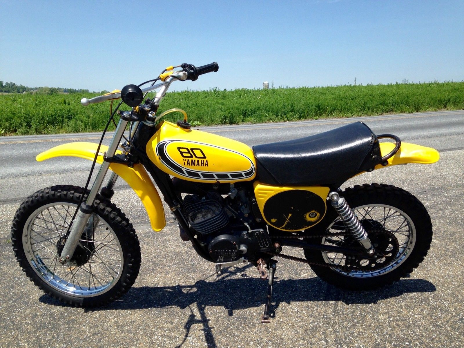 1976 Yamaha Yz80 Motorcycle With Title Mini Bike Ebay Yamaha
