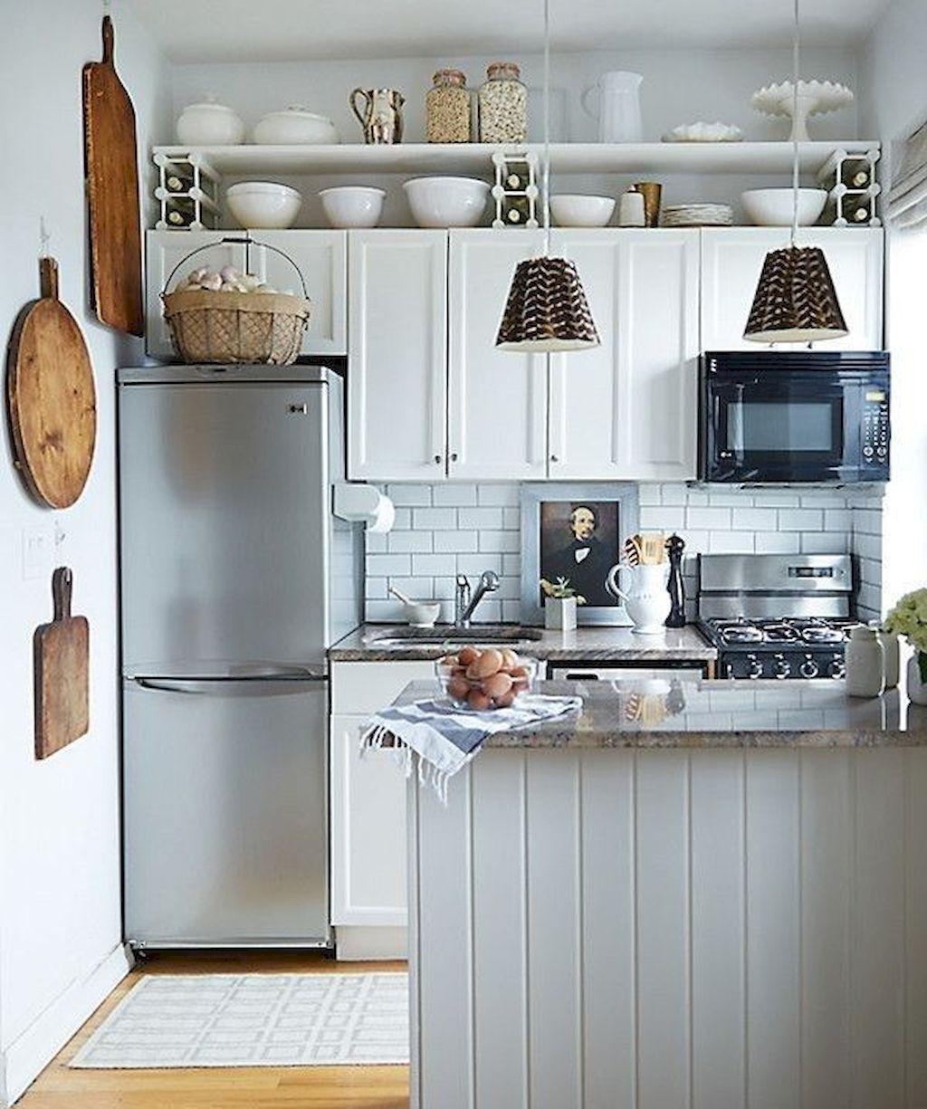 16 amazing tiny house kitchen design ideas in 2019 kitchen y rh pinterest com