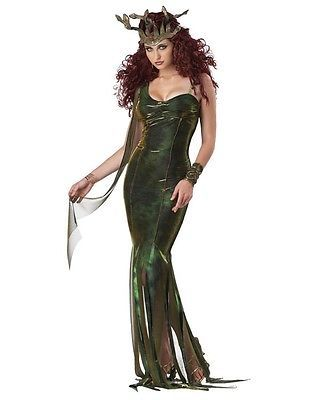 Serpentine Goddess Medusa Greek Mythology Costume Women S M L