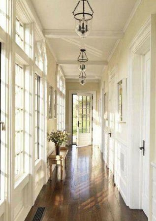 Bunny williams hallway inspiration bell jar lighting in triplicate also best small bathroom ideas designs for spaces rh pinterest