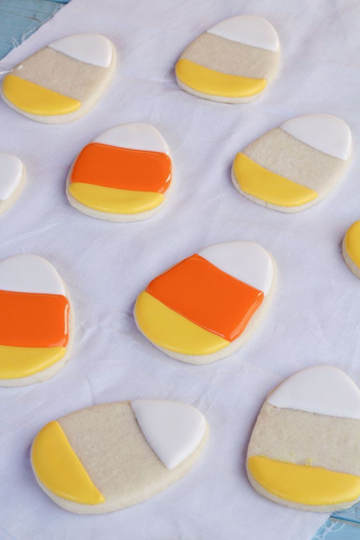 Simple Candy Corn Cookies #candycorncookies Simple Candy Corn Cookies via thebearfootbaker.com    Decorated Cookies | Sugar Cookies | Royal Icing | Roll Out Cookies | Candy Corn Cookies | Halloween Cookies | Fall Cookies | Autumn Cookies | How to Cookies | Cookie Tutorials | The Bearfoot Baker #halloweencookiesdecorated Simple Candy Corn Cookies #candycorncookies Simple Candy Corn Cookies via thebearfootbaker.com    Decorated Cookies | Sugar Cookies | Royal Icing | Roll Out Cookies | Candy Corn #candycorncookies