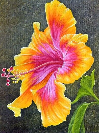 Pretty an artists touch pinterest paintings flower art and pretty painting flowerstole mightylinksfo