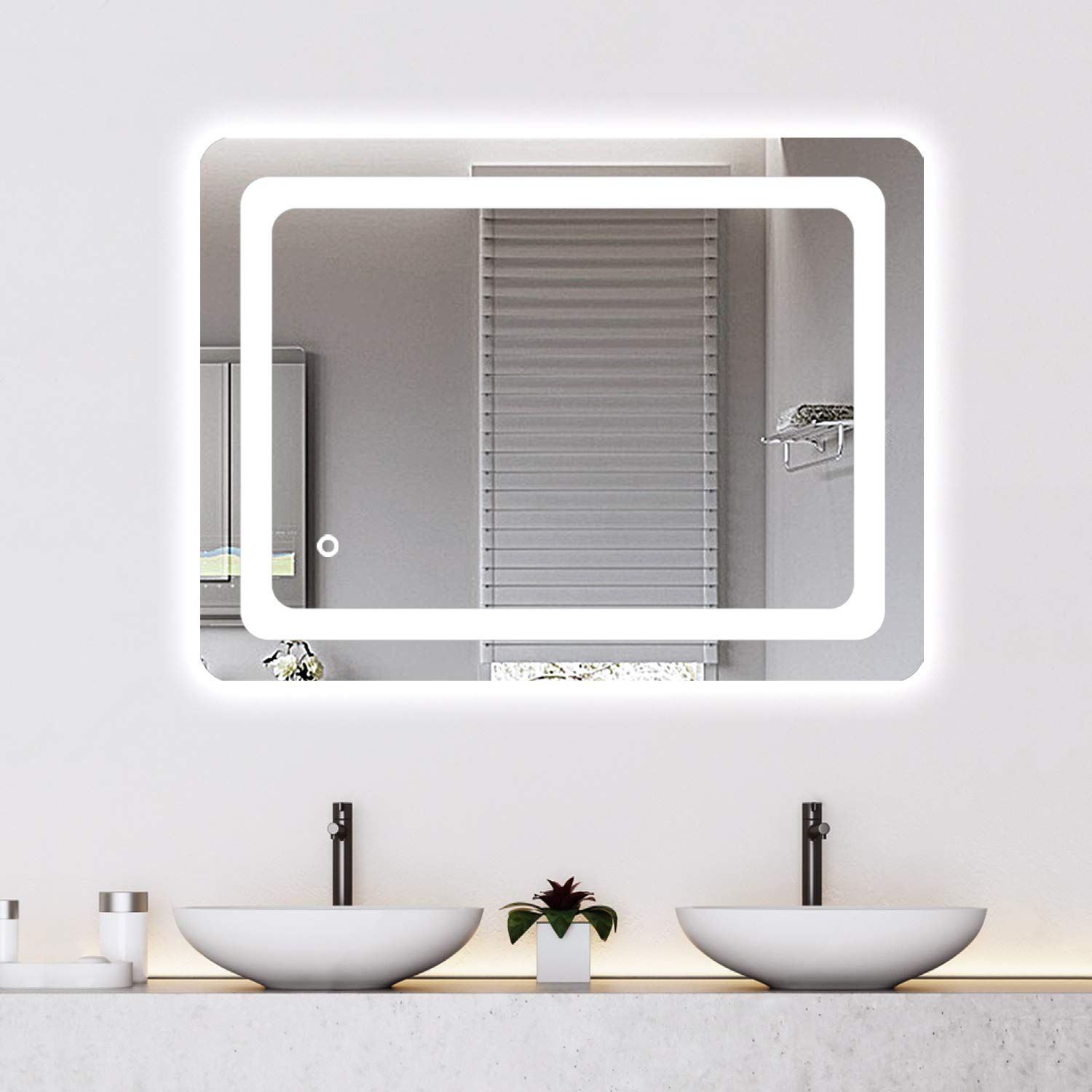 Cozy Castle Bathroom Mirror With Led Lights Lighted Makeup Vanity