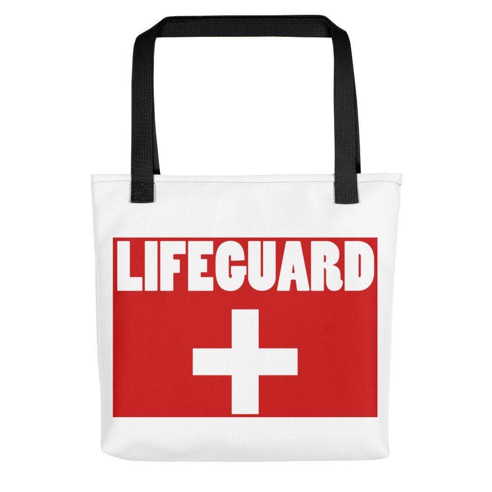 e444a50078b Dam Creative  Lifeguard Tote Bag