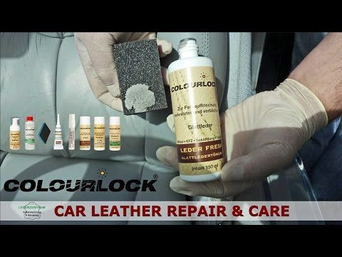 How To's | Colourlock Leather Repair