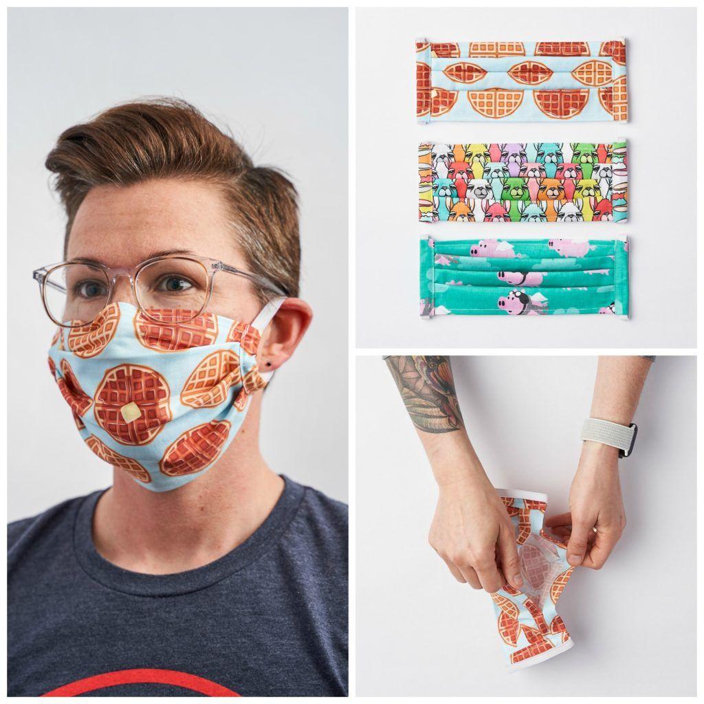 Anleitung: Eine Maske nähen