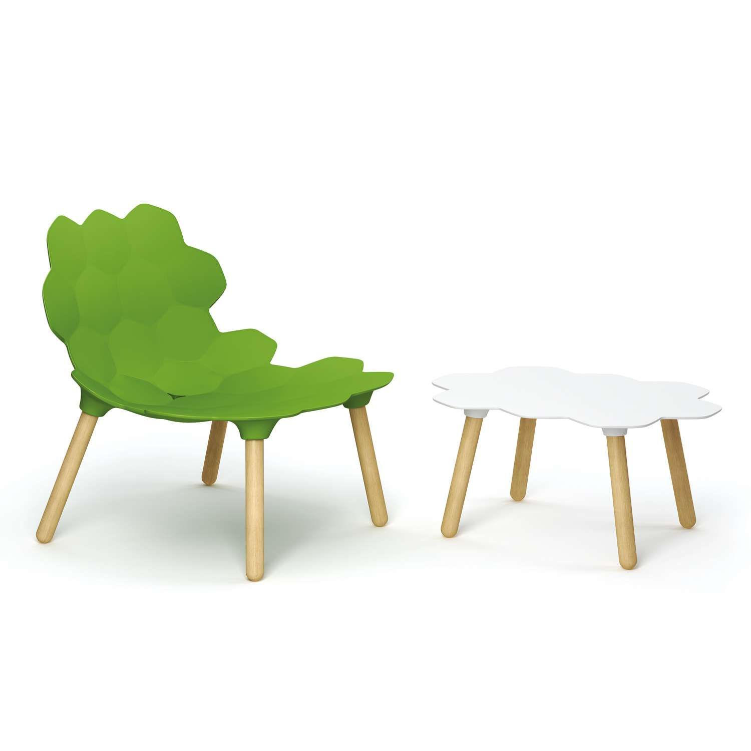 In Use With The Tarta Table Sold Separately Coffee Table White
