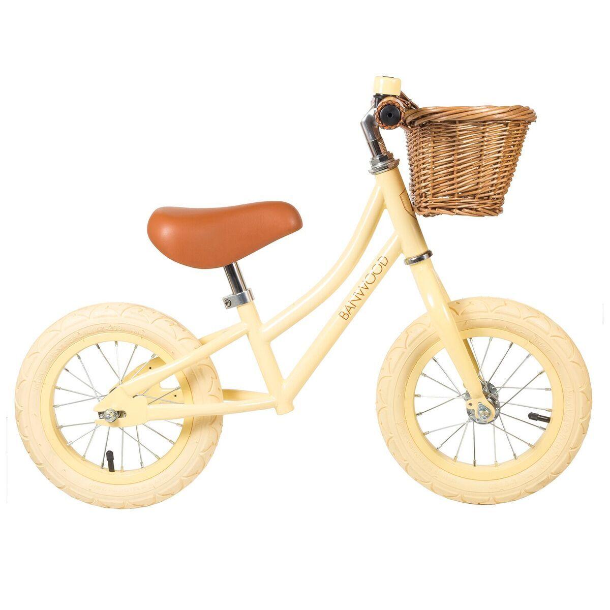 Banwood Laufrad Firstgo Vanille Laufrad Laufrad Kinder Und