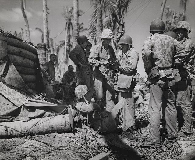 Commanding Officers, Tarawa, November 1943 Pinterest Marine corps