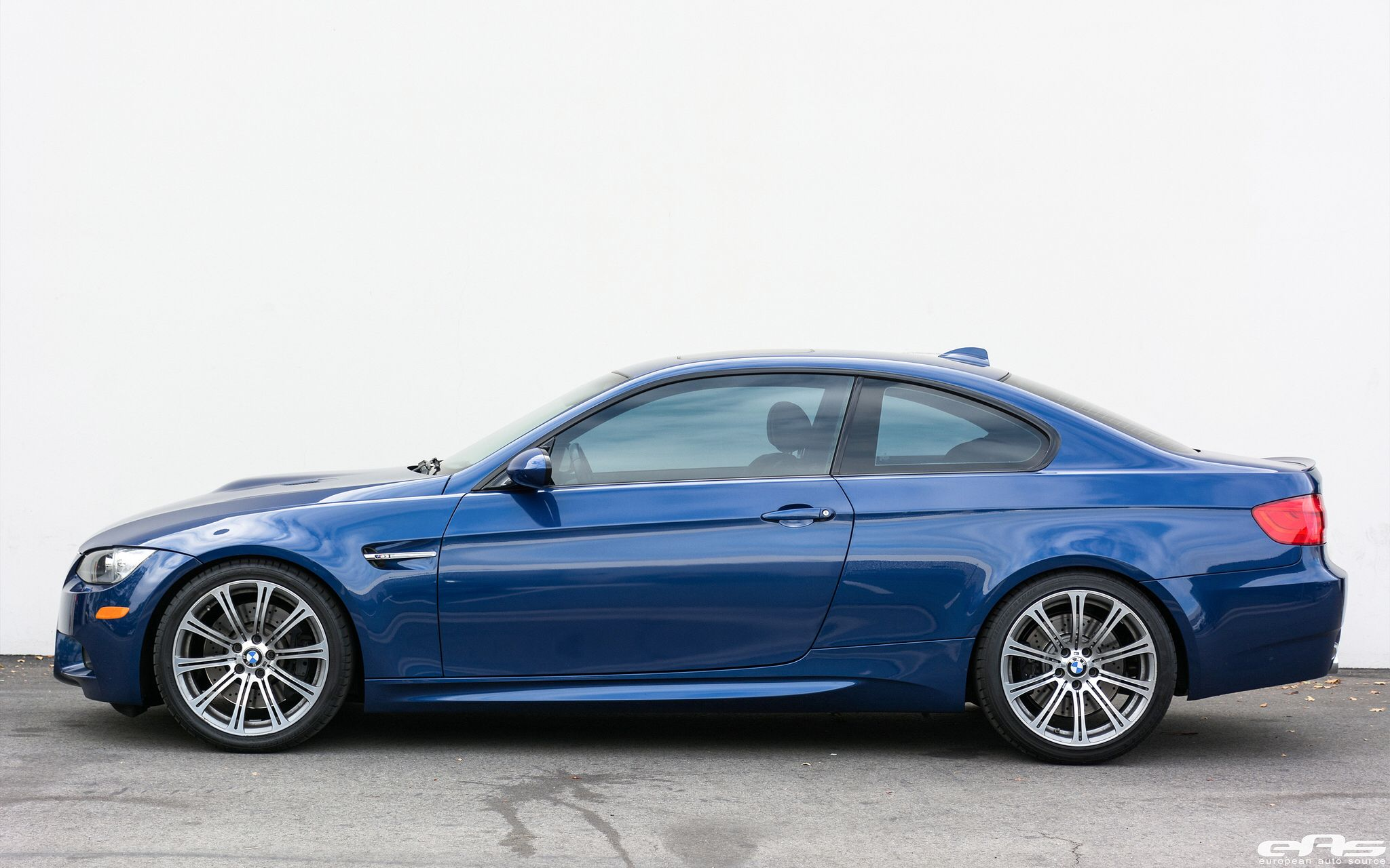 Le Mans Blue E92 M3 H R Lowering Springs Macht Schnell Spacers