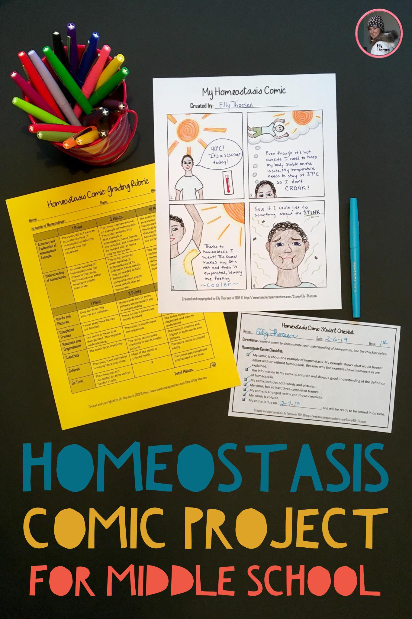 Homeostasis Worksheet Answers