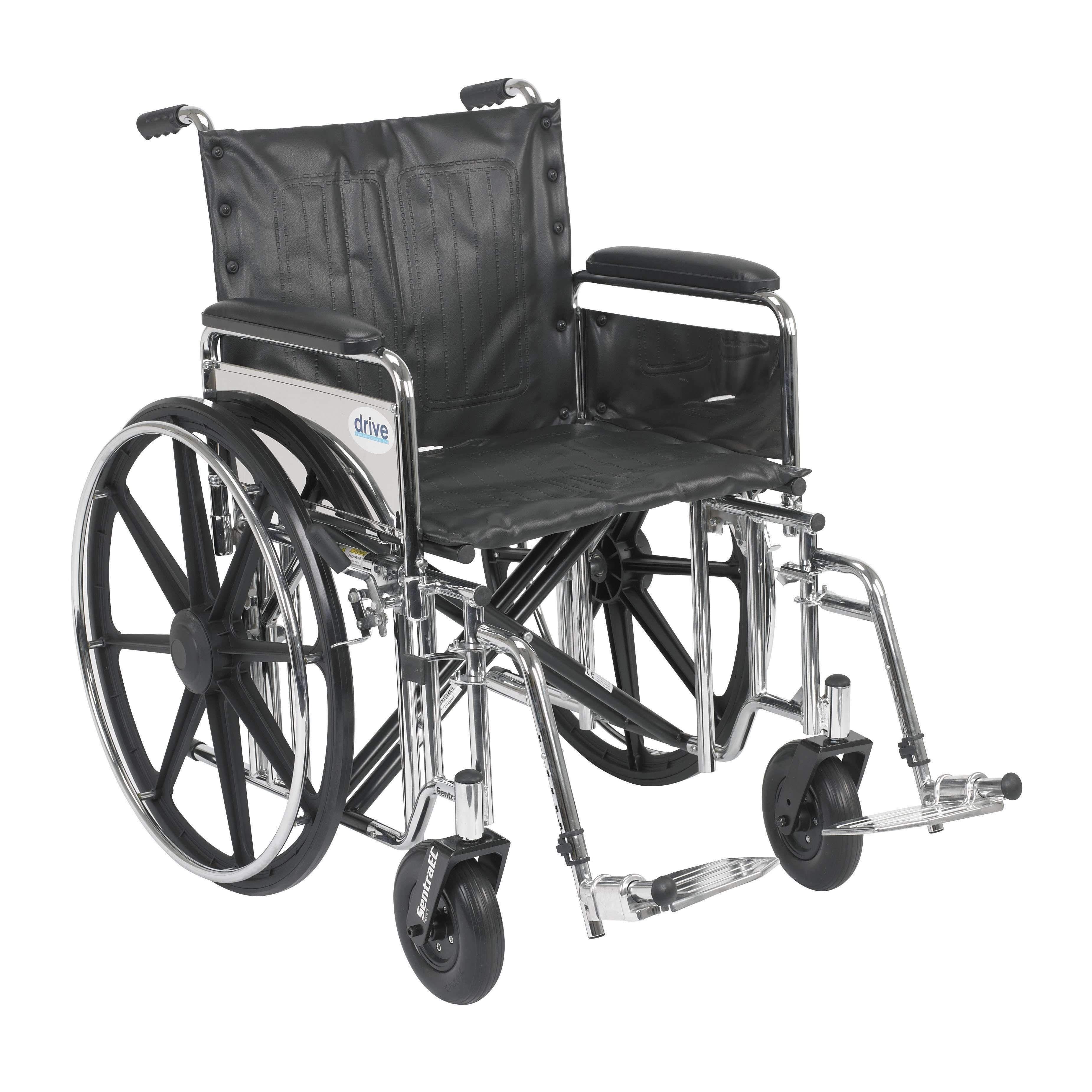 drive std20dfa sf sentra extra heavy duty wheelchair detachable rh pinterest com All Terrain Manual Wheelchairs medicare lcd manual wheelchairs