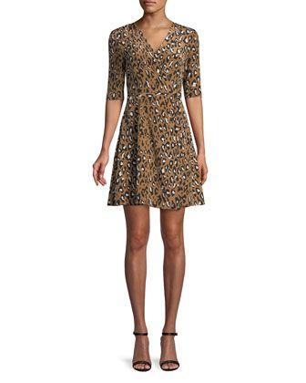 fe69d10c9 New+Savilla+Silk+Mini+Dress+by+Diane+von+Furstenberg+at+Neiman+Marcus.