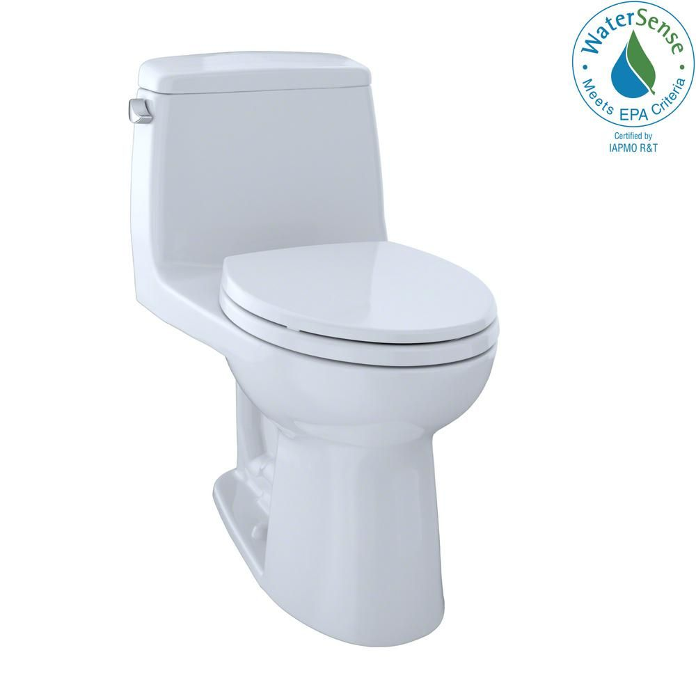 Eco Ultramax 1 Piece 1 28 Gpf Single Flush Elongated Toilet With