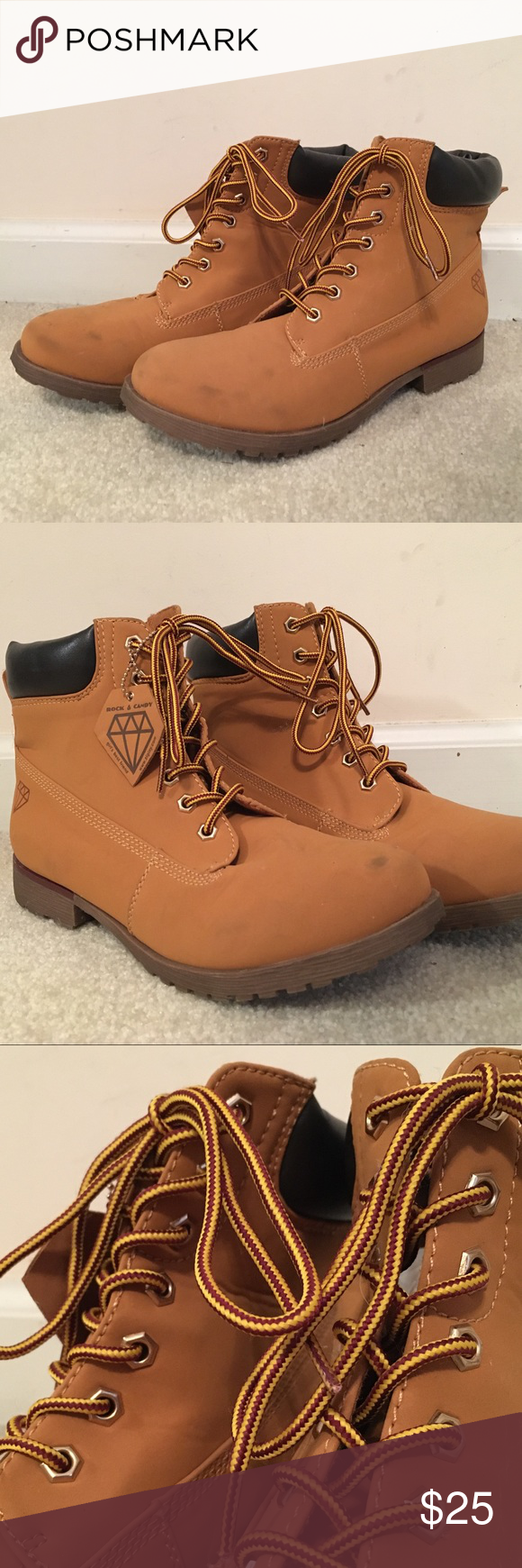 Timberland mock boots Not real
