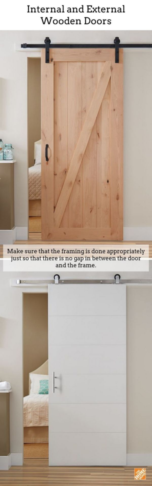 Wooden Doors. Real wood doors are perfect if you live in a period ...