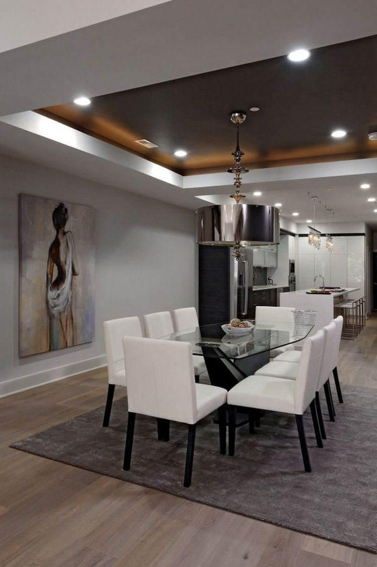 Top 10 Best Tray Ceiling Ideas 2020 En 2020 Salle A Manger