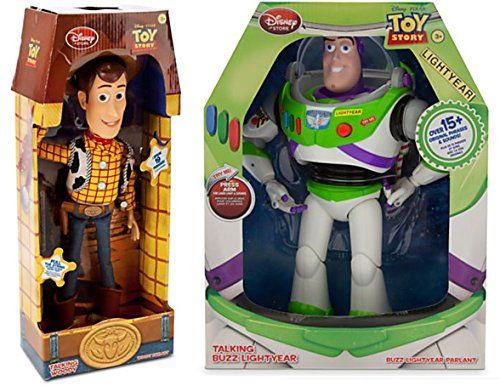 Toy Story Buzz Lightyear 12 inch figure Disney Store exclusive