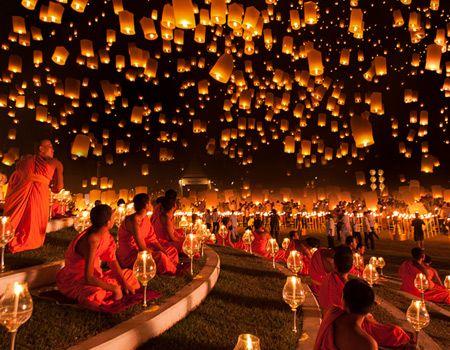 Tailandia Festival de los Faroles