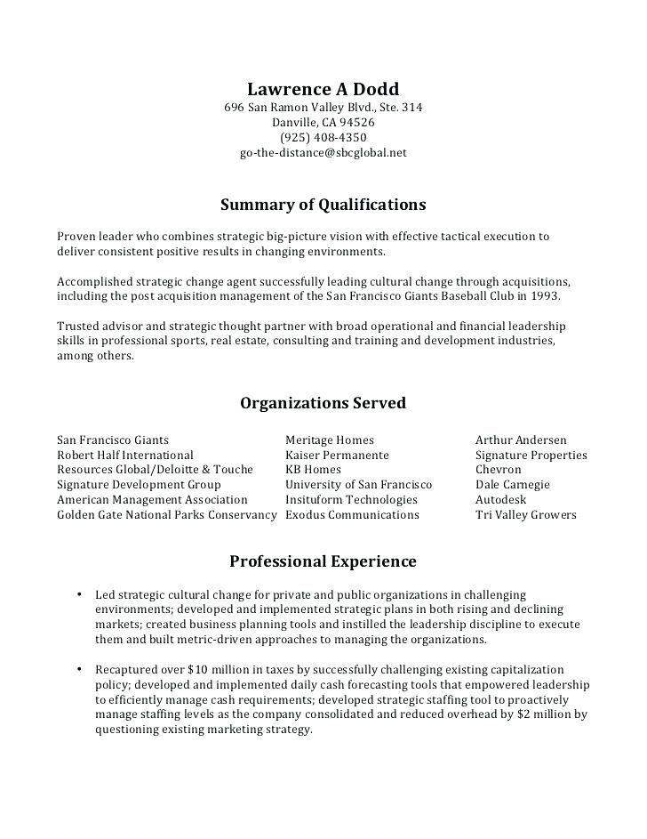 Big 4 Resume Example Professional Resume Templates