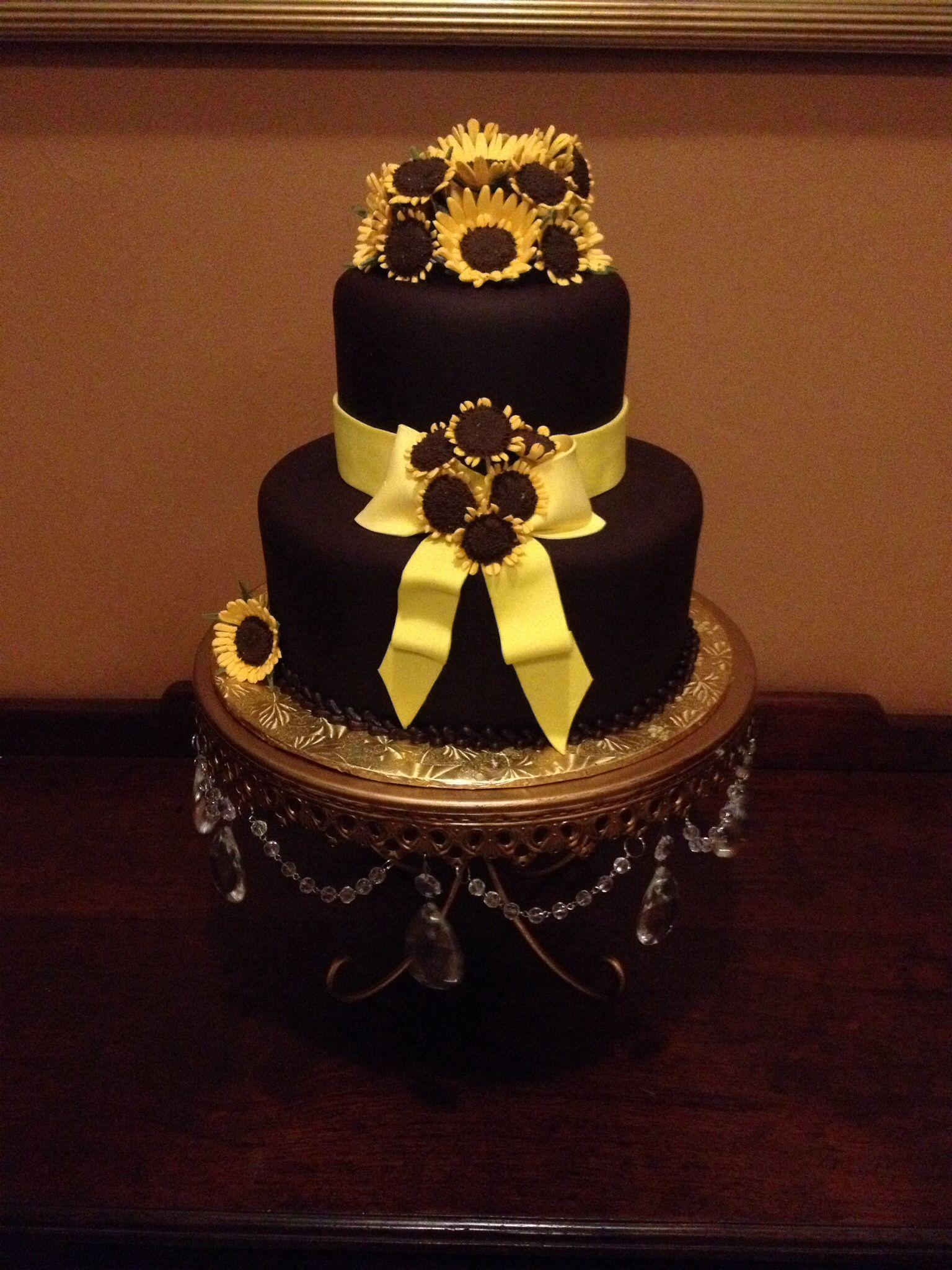 Sunflower Blast Cake by Karen Padilla