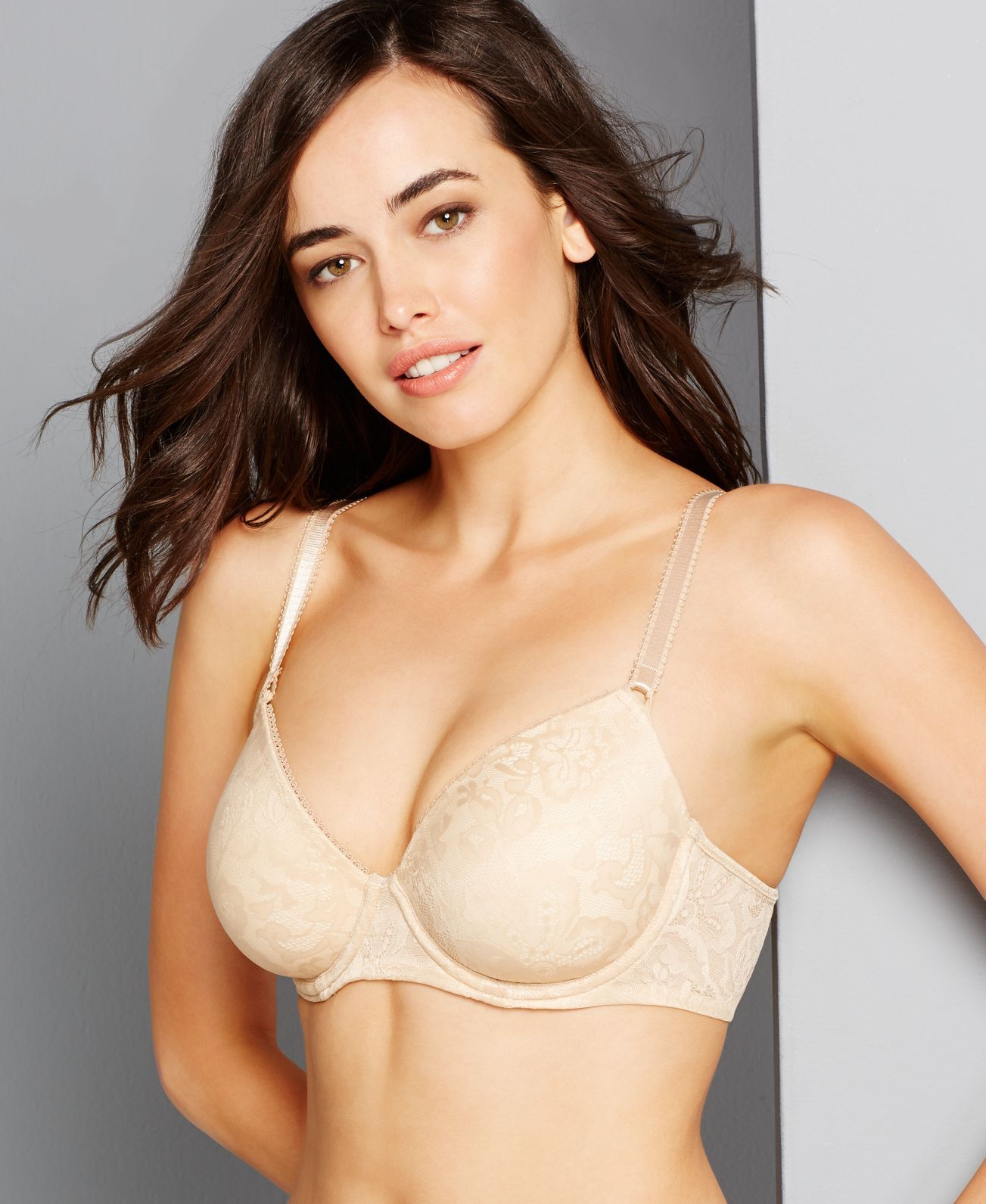 Bali One Smooth U Lace Underwire Bra 3516 | Products | Pinterest ...