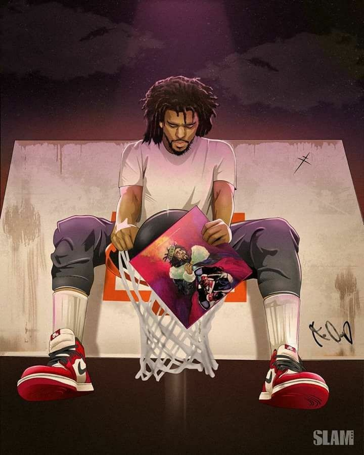 Pin By Quave 187 On Wallpapers J Cole Art Hip Hop Art J Cole Drawing