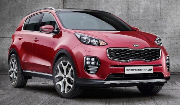 Kia Sportage 2016 Suv Finally Unveiled Cars Kia Sportage Kia