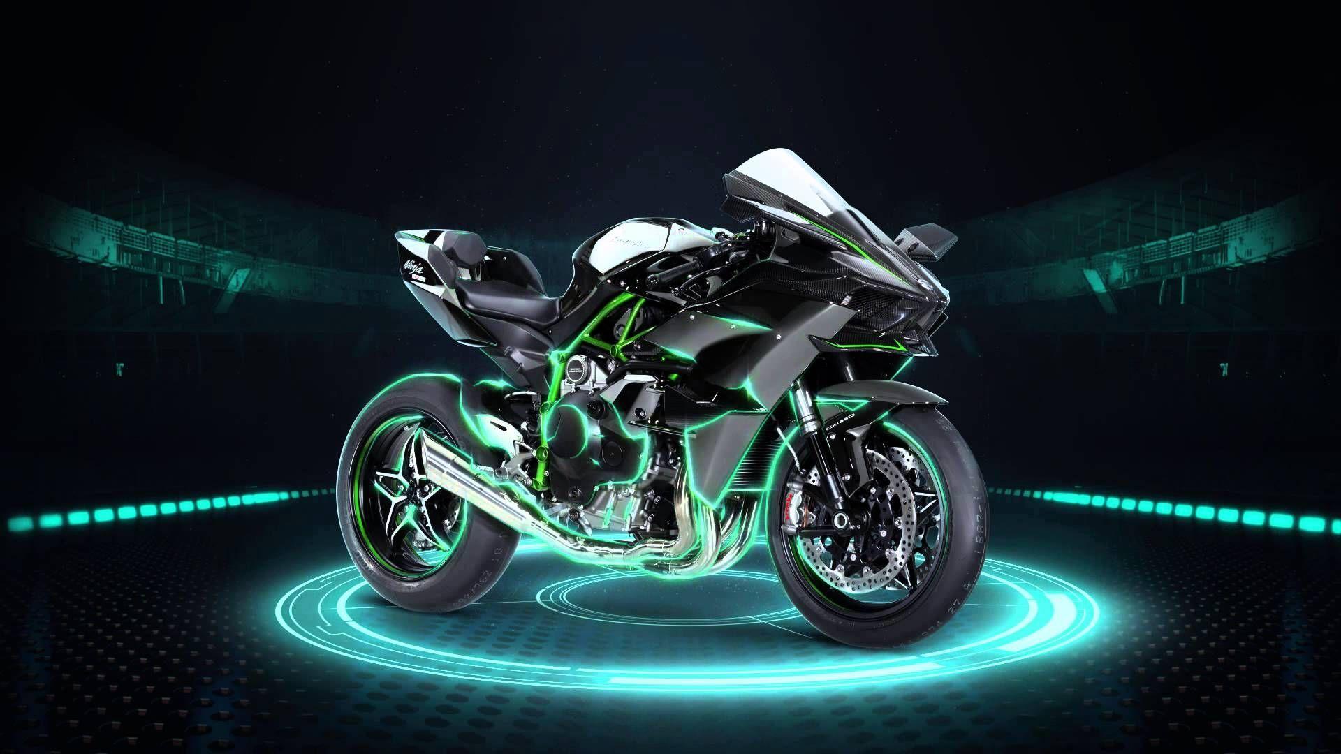 Kawasaki Ninja H2r Fastest Superbike In The Series Z1000 Lighting System Circuit