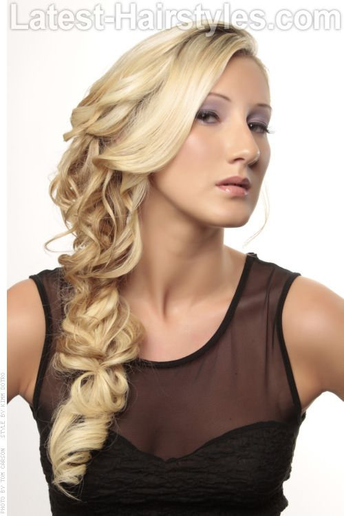 The Funky Foxy Braid Long Blonde Style