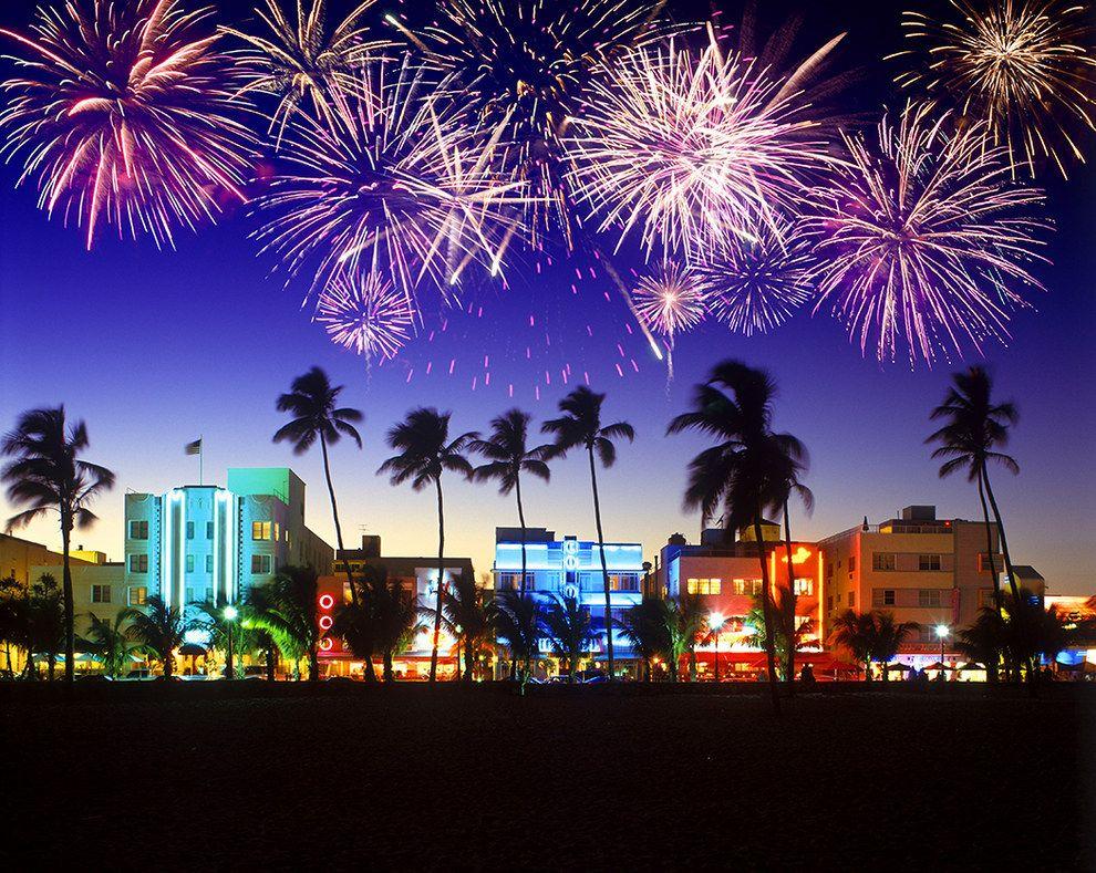 You Ll Cap Off The Night With Some Fireworks South Beach Miami Florida South Beach Miami Usa Beaches