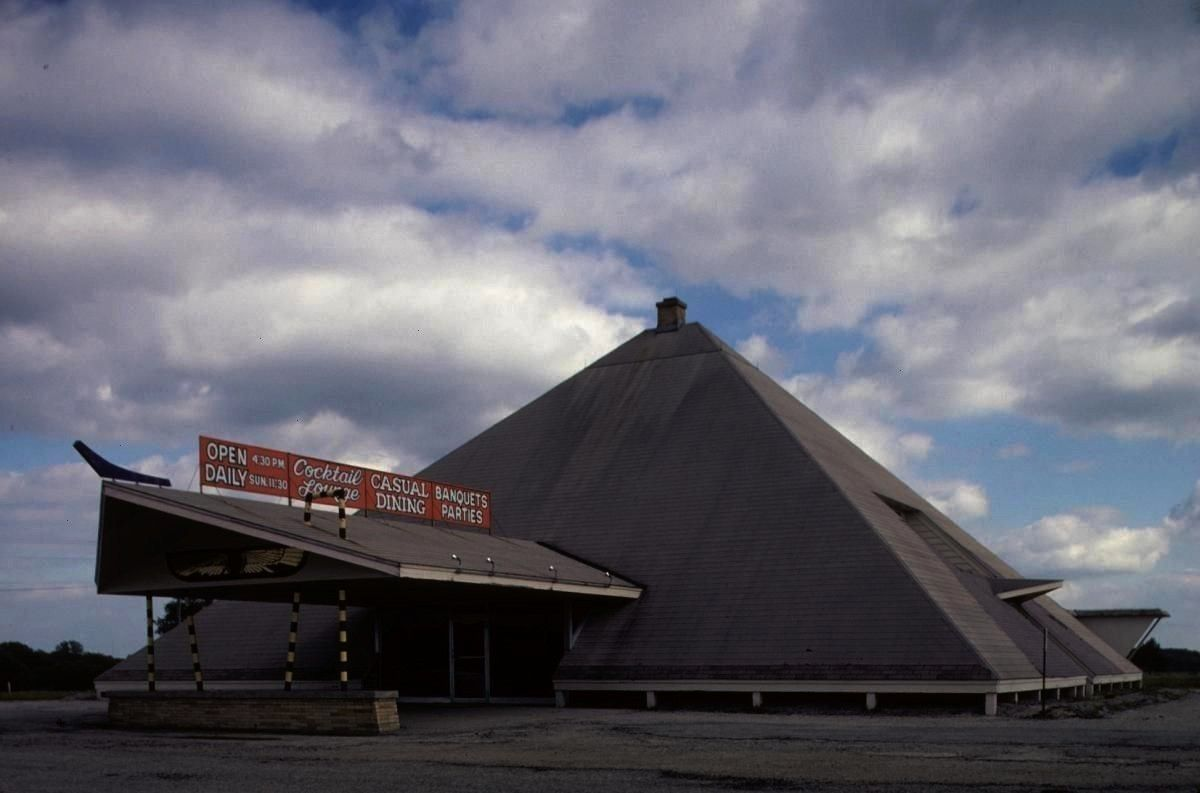 the Nile Supper Club 1961 in Beaver Dam USA Architect unknown Pyramid of the Nile Supper Club 1961 in Beaver Dam USA Architect unknown  Manicotti Italian Casserole  This...