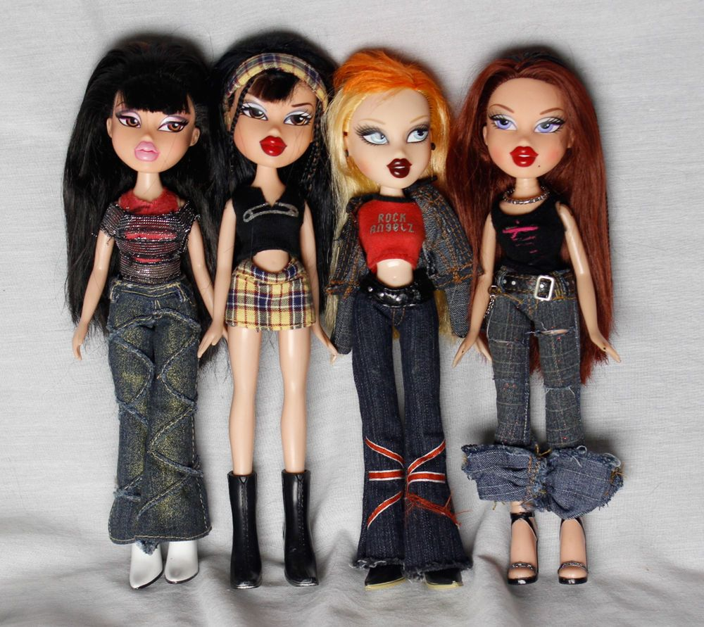 Mga bratz brats girl dolls chloe cloe jade punk rocker