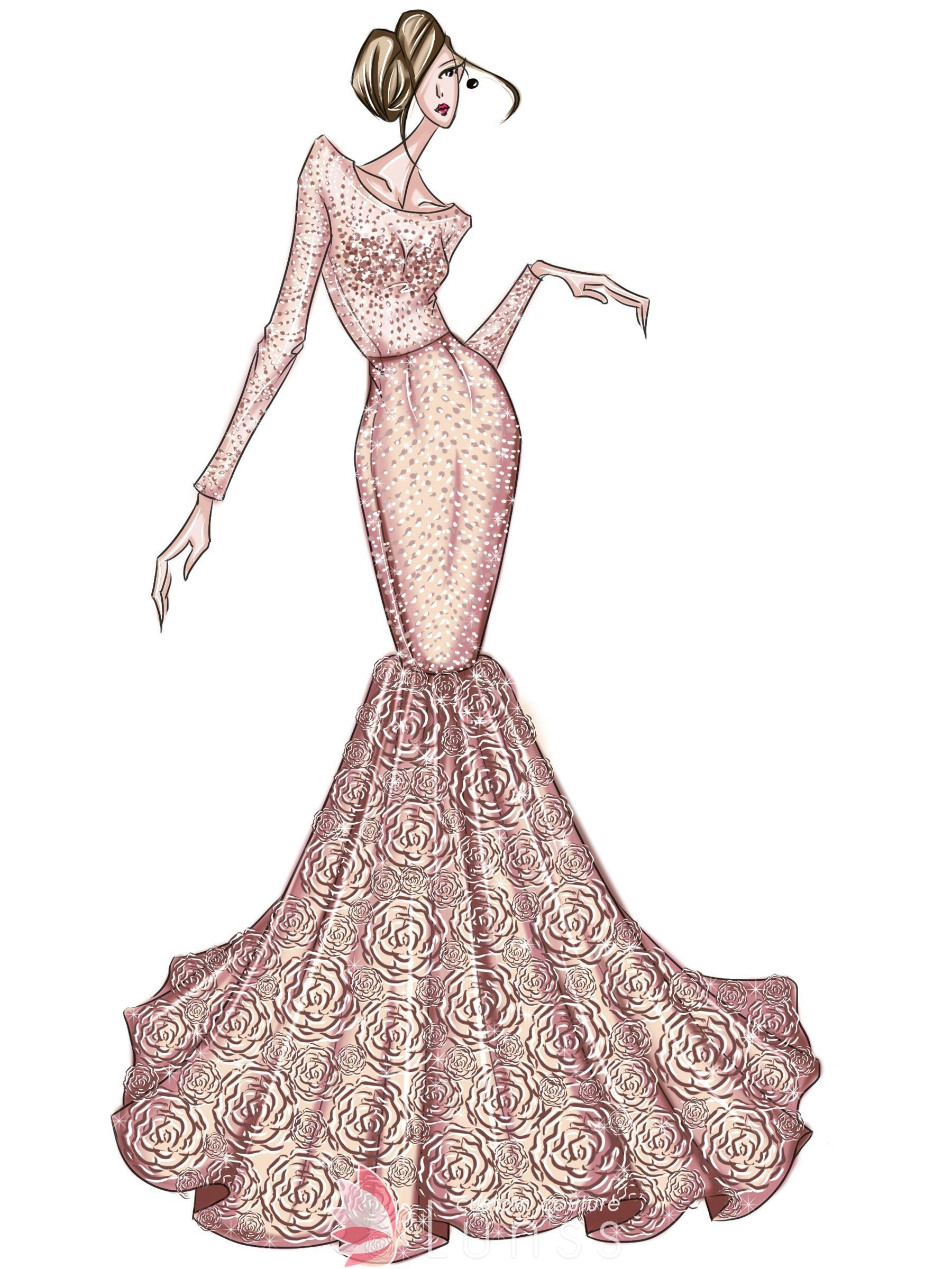Pin On Dress Sketches