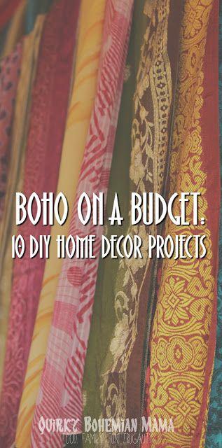 Boho On A Budget 10 Diy Home Decor Projects Room