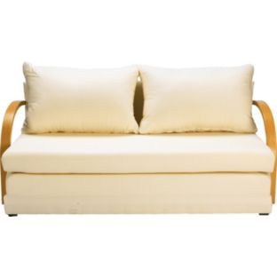 Buy Fizz Foam Fold Out Sofa Bed Natural At Argos Co Uk