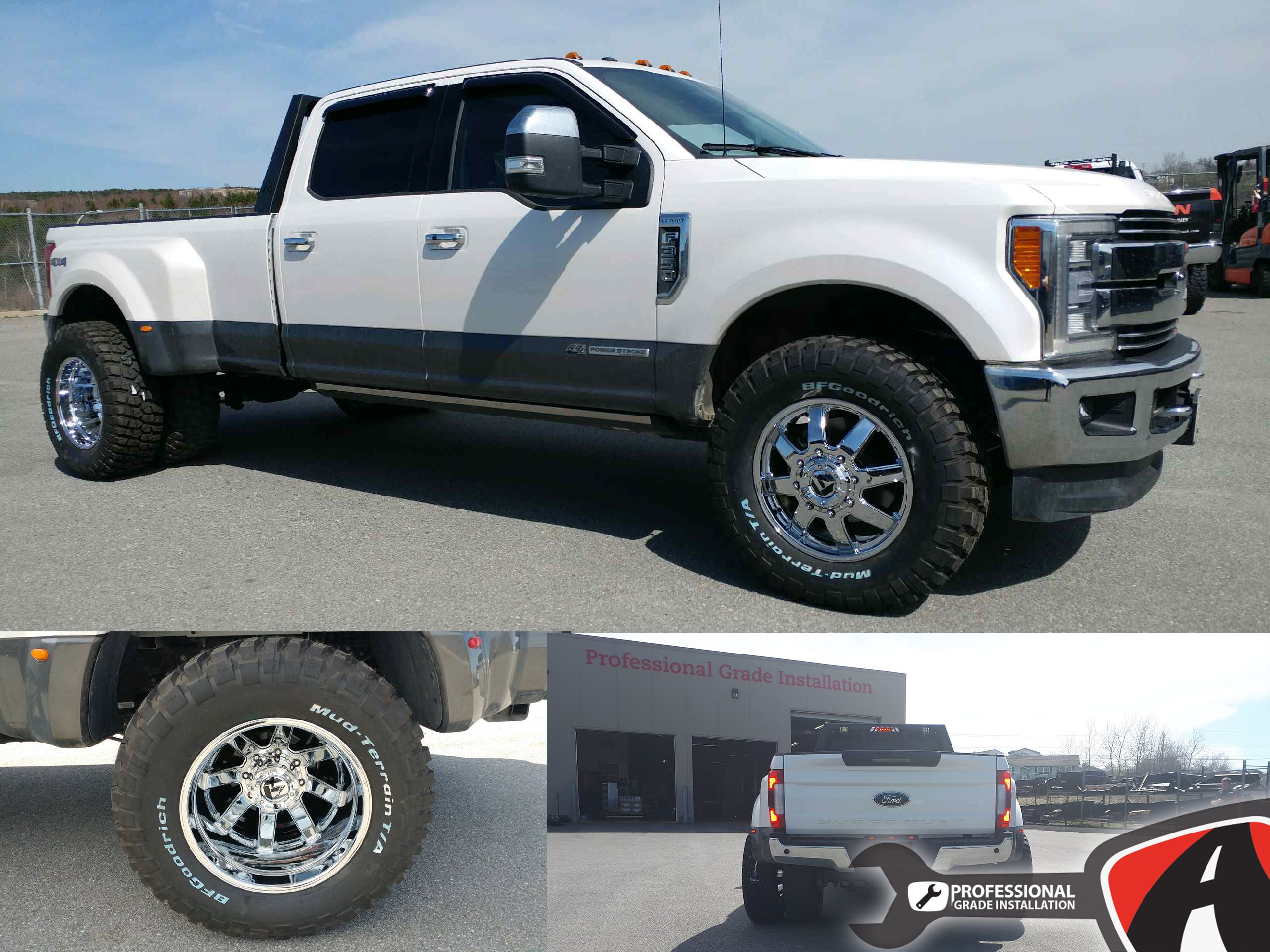 2017 f450 dually with 20 maverick series wheels from fuel. Black Bedroom Furniture Sets. Home Design Ideas