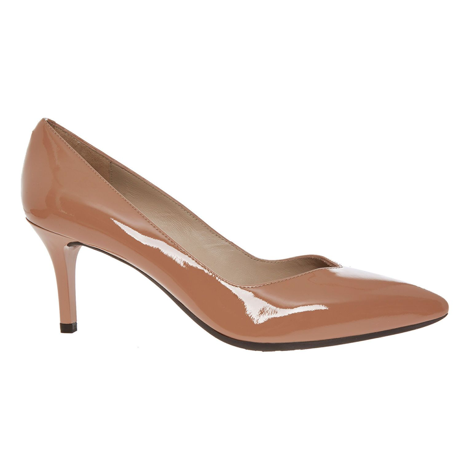 2469645b92ae9 Dusty Pink Patent Court Shoes - Heels - Shoes - Women - TK Maxx ...