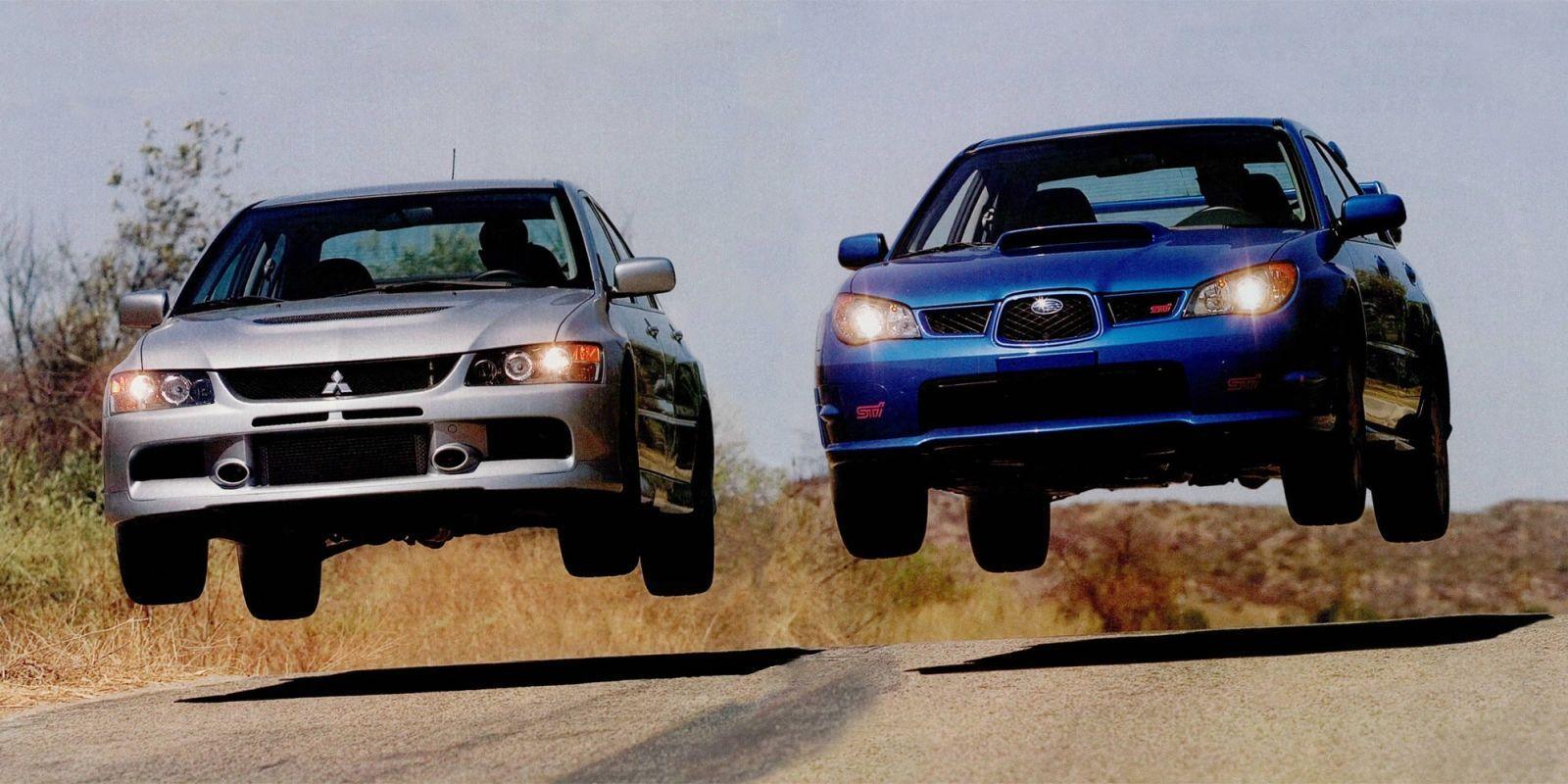Subaru Wrx Vs Sti >> Mitsubishi Evo Ix Mr Vs Subaru Impreza Wrx Sti Which Is Better