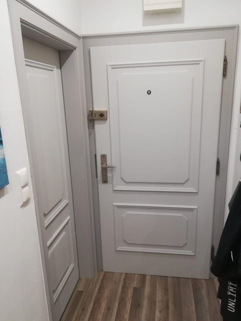 Türen streichen mit Kreidefarbe - MissPompadour