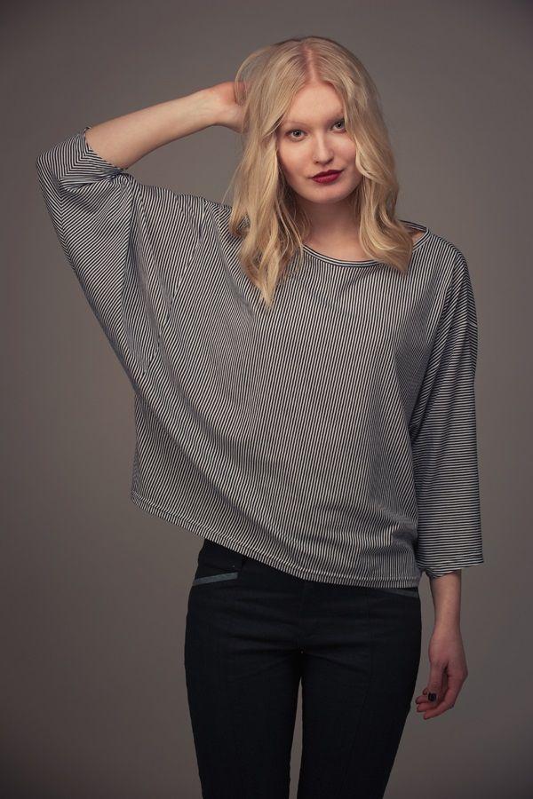 Patron Named BLAIR T-Shirt Manches Chauve-Souris Format PDF en vente ...