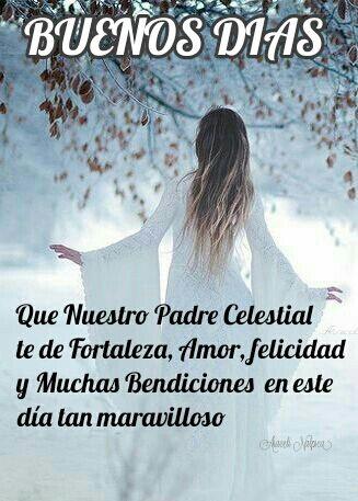 Araceli Malpica Posters Buenos Dias Que Nuestro Padre Celestial
