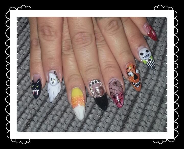 Halloween Nails by me