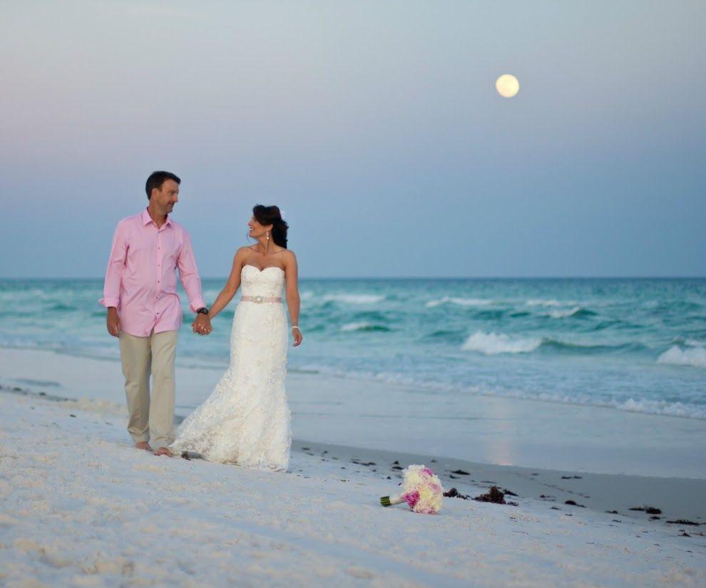 Sunset Beach Wedding Ideas: Sunset Beach Wedding Destin
