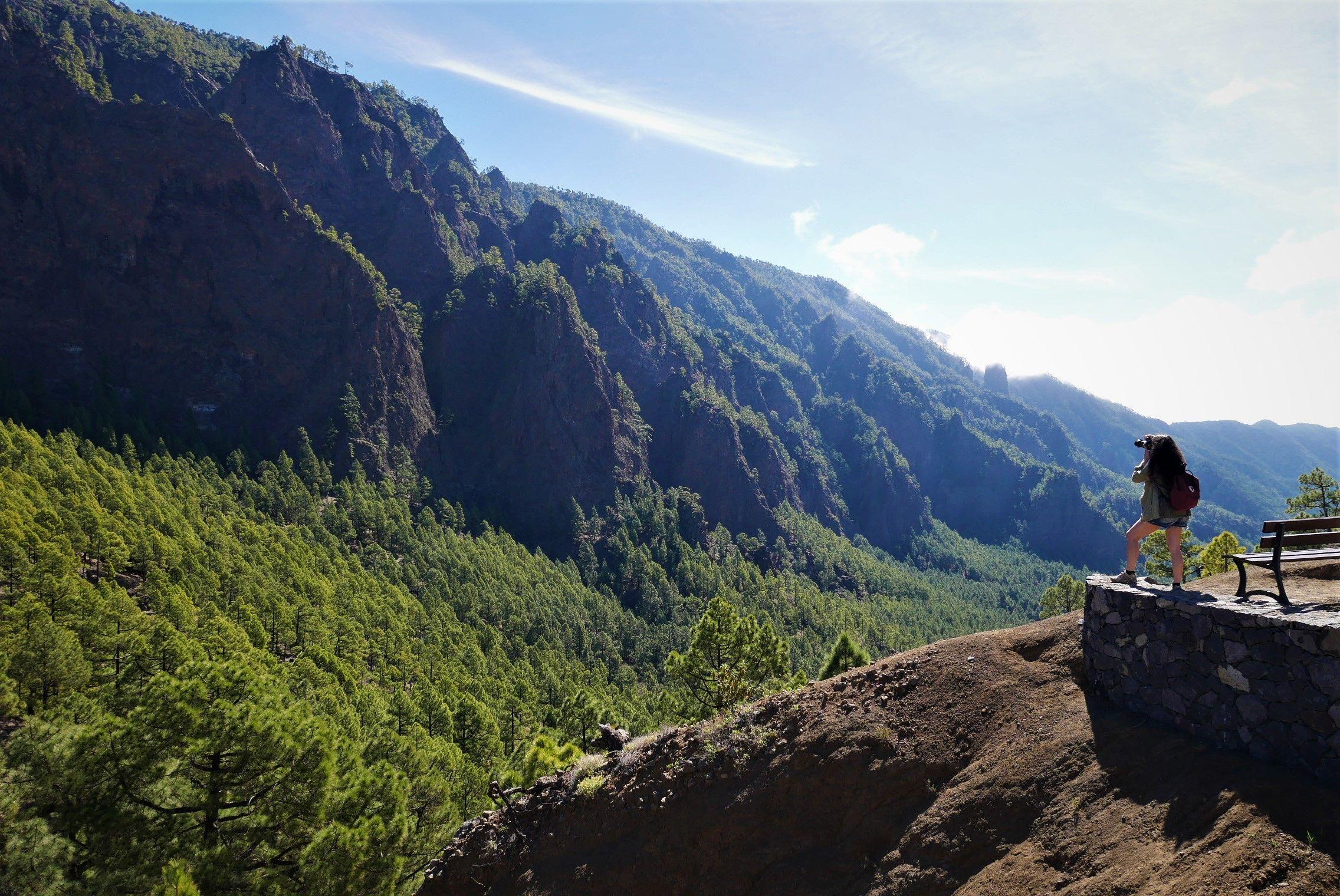 Qué ver en la isla de La Palma, Canarias. Caldera de